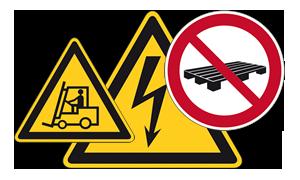 Verkehrs-, Warn- und Verbotszeichen