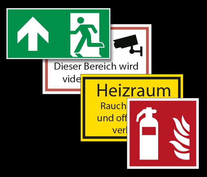 Kennzeichnung - Signs